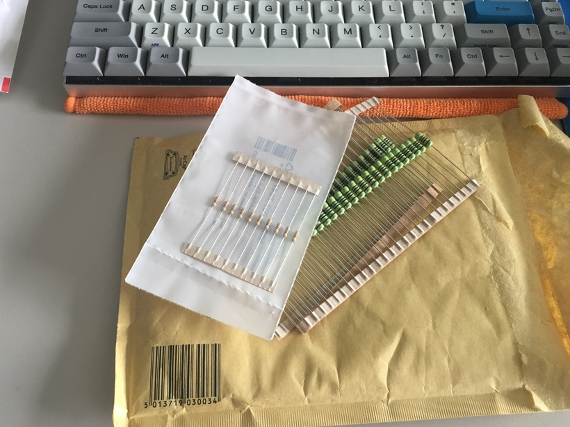bought the wrong resistors