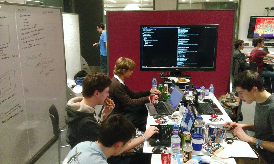 My first Hackathon at Studenthack2014!